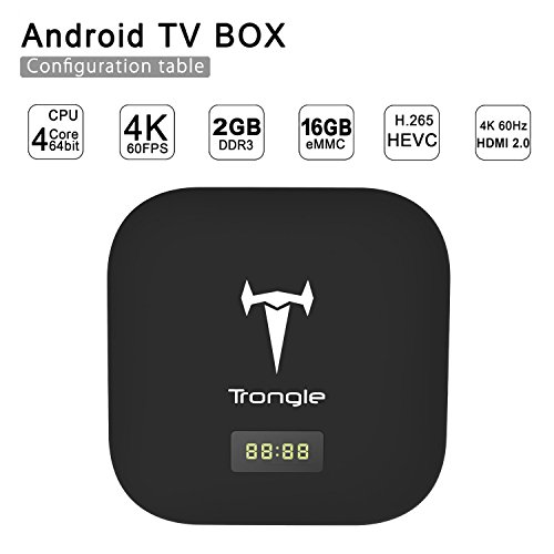 Trongle 2 GB/16 GB 64 Bits Quad Core Android Mini TV Box